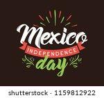 viva mexico. mexico... | Shutterstock .eps vector #1159812922