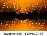Abstract Dark Orange Black...