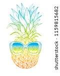 vector illustration  hand drawn ... | Shutterstock .eps vector #1159815682
