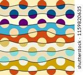seamless geometric pattern.... | Shutterstock .eps vector #1159820635