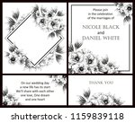 romantic wedding invitation... | Shutterstock .eps vector #1159839118