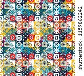 ethnic seamless pattern.... | Shutterstock .eps vector #1159862242