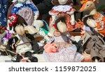 flea market   folk crafts....   Shutterstock . vector #1159872025