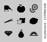 cut vector icons set. with... | Shutterstock .eps vector #1159882108
