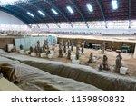 xian   jun 30 terracotta army... | Shutterstock . vector #1159890832