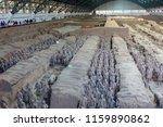 xian   jun 30 terracotta army... | Shutterstock . vector #1159890862