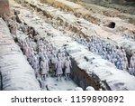 xian   jun 30 terracotta army... | Shutterstock . vector #1159890892