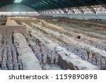 xian   jun 30 terracotta army... | Shutterstock . vector #1159890898