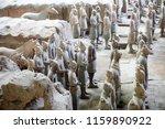 xian   jun 30 terracotta army... | Shutterstock . vector #1159890922