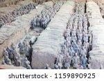 xian   jun 30 terracotta army... | Shutterstock . vector #1159890925