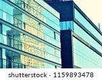 modern office building on a...   Shutterstock . vector #1159893478