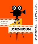 movie and film modern retro... | Shutterstock .eps vector #1159894198