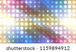 abstract multicolored football... | Shutterstock . vector #1159894912