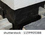 foundation waterproofing with... | Shutterstock . vector #1159905388