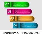 texture paper banner template   Shutterstock .eps vector #1159907098