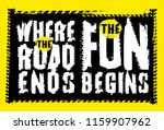 off road quote lettering.... | Shutterstock .eps vector #1159907962
