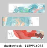 abstract cover template with... | Shutterstock .eps vector #1159916095