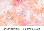 abstract cover template with... | Shutterstock .eps vector #1159916125