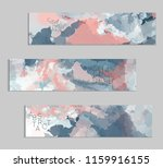 abstract cover template with... | Shutterstock .eps vector #1159916155