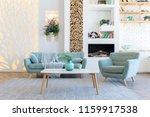 fashionable spacious apartment...   Shutterstock . vector #1159917538