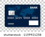 Vector Design Of Credit Card