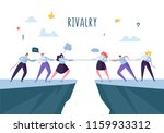 business competition  rivalry... | Shutterstock .eps vector #1159933312