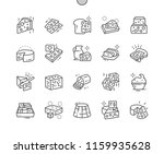 cheese shop well crafted pixel... | Shutterstock .eps vector #1159935628