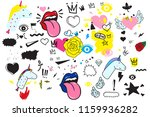 universal trend hand drawing... | Shutterstock .eps vector #1159936282
