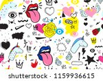 universal trend hand drawing... | Shutterstock .eps vector #1159936615