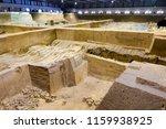 xian   jun 30 terracotta army... | Shutterstock . vector #1159938925