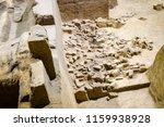 xian   jun 30 terracotta army... | Shutterstock . vector #1159938928