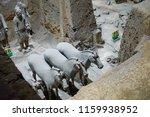 xian   jun 30 terracotta army... | Shutterstock . vector #1159938952