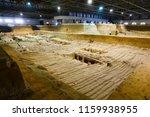 xian   jun 30 terracotta army... | Shutterstock . vector #1159938955