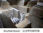 xian   jun 30 terracotta army... | Shutterstock . vector #1159938958
