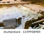 xian   jun 30 terracotta army... | Shutterstock . vector #1159938985