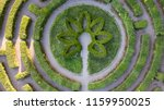 aerial view from the drone to... | Shutterstock . vector #1159950025
