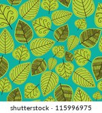 foliage pattern design. vector... | Shutterstock .eps vector #115996975