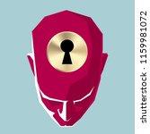 artificial intelligence concept ... | Shutterstock .eps vector #1159981072