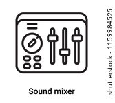 sound mixer icon vector... | Shutterstock .eps vector #1159984525