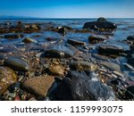 seascape landscape of wales at... | Shutterstock . vector #1159993075