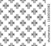 seamless pattern. geometrical... | Shutterstock . vector #1160010382