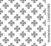 seamless pattern. geometrical... | Shutterstock . vector #1160010385