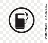 petrol station vector icon... | Shutterstock .eps vector #1160021362