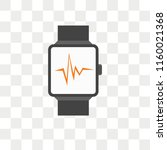 smartwatch vector icon isolated ... | Shutterstock .eps vector #1160021368