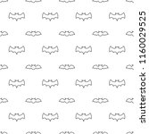 seamless pattern with thin line ... | Shutterstock .eps vector #1160029525