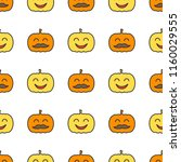 jack o lantern elements...   Shutterstock .eps vector #1160029555