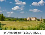 chateau  country house. farming ... | Shutterstock . vector #1160048278