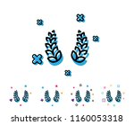 laurel wreath line icon. reward ...   Shutterstock .eps vector #1160053318