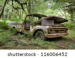 Abandoned Ford Pick Up Truck ...