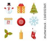 Christmas Icon. Vector. Winter...